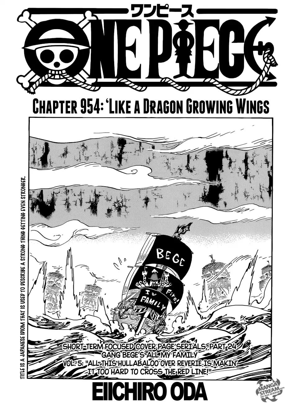 one piece manga 955