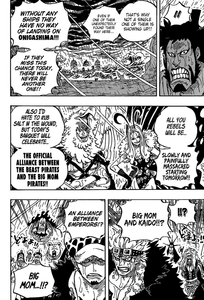 One Piece 975 Read One Piece Chapter 975